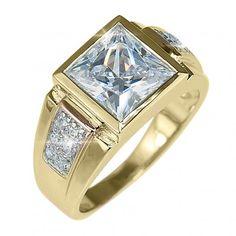 Meridian Men's Gold Ring