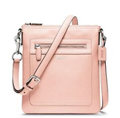 Coach Pink Legacy Leather Swingpack
