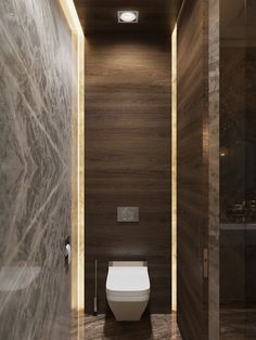 rendering of hotel rooms on Behance Small Toilet Design, Small Toilet Room, Guest Toilet, Guest Bathrooms, Chic Bathrooms, Small Bathroom, Wc Design, Bath Design, Bathroom Design Luxury
