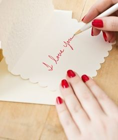 February is the month to write love letters