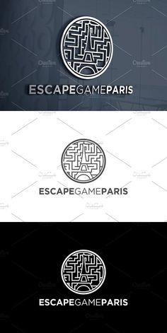 Escape Game Paris | Logo Template. Logo Templates