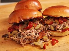 Easy Oven-Baked Pulled Pork Sandwiches   Serious Eats : Recipes