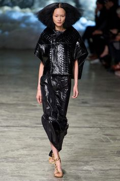 Rick Owens Spring 2013 Ready-to-Wear Collection Slideshow on Style.com