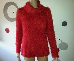 MyLucky Sew: Jersey Harmony Katia Nº84 Rojo Talla 38-40