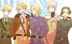 Allies!  Britain,  America,  France and China-aru