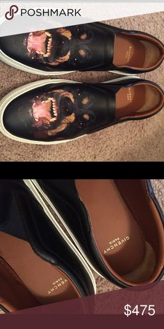 Rottweiler Leather Skate Sneakers Worn a few times no box or dust bag included **authentic Givenchy Shoes Sneakers