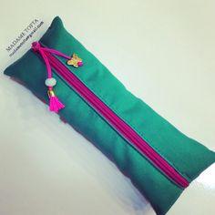 #dıy #pouch #kalemlik #makeupbag #bag