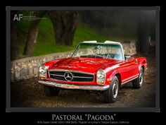 "50th Anniversary Image of the 280SL ""Pagoda"""