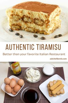 Your friends and family will love my tiramisu recipe. It's easy to make and I guarantee it will be the Best Tiramisu you've ever had! Can you believe that this classic dessert can be made in just about 30 minutes? Best Tiramisu Recipe, Tiramisu Cake, Tiramisu Recipe Alcohol, Authentic Tiramisu Recipe, Christmas Desserts, Christmas Baking, Christmas 2019, Baking Recipes, Cake Recipes