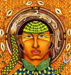 Yemaya becomes the Apetebi ( woman ) of Orula - The Yoruba Religious Concepts Orishas Yoruba, African Art Paintings, Cuban Art, Princess Zelda, Concept, Artwork, Artist, Fictional Characters, Image