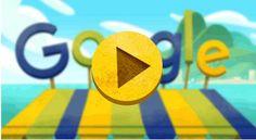 FructiJuegos de Google y la Ceremonia de apertura de los Juegos Olímpicos de Río de Janeiro 2016. Doodleando, Los Logos de Google