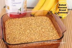 baked banana bread oatmeal | confessionsofacookingdiva