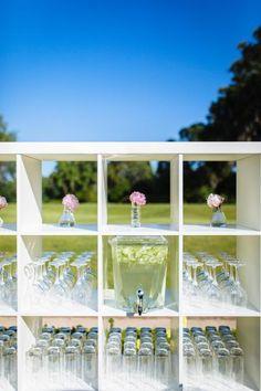 Wedding and Event rentalDecor| ooh! events White bookshelf bar back $200