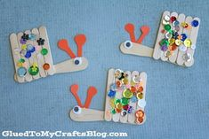 Popsicle Stick Snails - Kid Craft