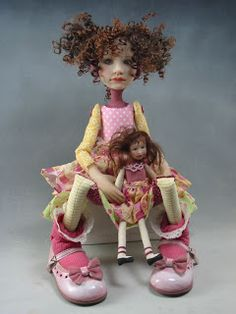 Dianne Adam Dolls....which enchant with tinkling of fairy dust .