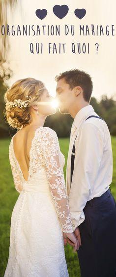 Les préparatifs et l'organisation d'un mariage sont un vrai stress. De la déco, au choix de la robe de mariée en passant par le budget, qui gère quoi à un mariage ? Amis, famille, témoins... Chacun a un rôle à jouer dans l'organisation de votre mariage et le jour J.