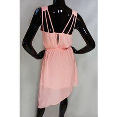 Pink Side High-Low Dress $13.00
