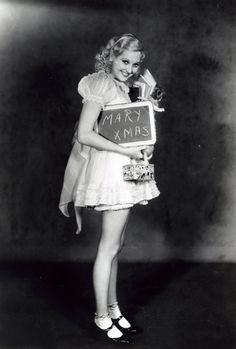 Merry Xmas from Thelma Todd. Hooray For Hollywood, Golden Age Of Hollywood, Vintage Hollywood, Hollywood Glamour, Classic Hollywood, In Hollywood, Silent Film Stars, Movie Stars, Classic Actresses