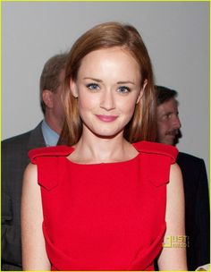 Alexis Bledel - the hair is distracting, it's clearly not right, but the red is fab.
