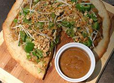 Thai Chickpea Pizza {Vegan} - VeggieConverter