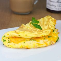 Fluffy Cheese Omelette