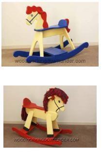 projeto gratuito no blog: Ah! E se falando em madeira...: brinquedo cavalinho (rocking horse)
