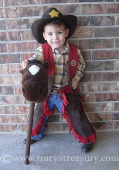 Cowboy costumes no sew and sew on pinterest cosplay pinterest tracys treasury diy cowboy sheriff costume heres a sewing tutorial to make a dress solutioingenieria Choice Image