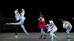 "Miami City Ballet in Jerome Robbins' ""The Concert."" Photo © Gene Schiavone."