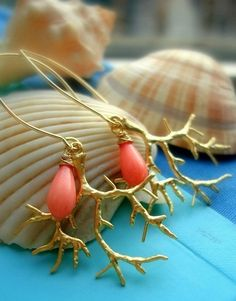 http://madebysam.ca/pink-coral-gold-coral-reef-gold-earrings-bridesmaid-gifts-beach-wedding-spring-summer-bridesmaid-earrings-wedding-jewelry.html