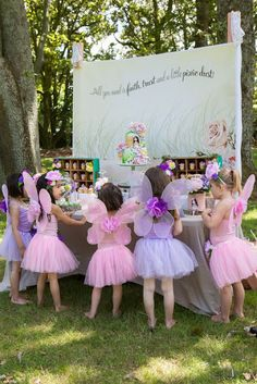 Party Inspirations: Isabella's Enchanted Fairy Party. Click through for awesome Fairy Party ideas!!!