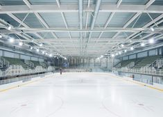 Olympic Ice Rink of Liège by L'Escaut