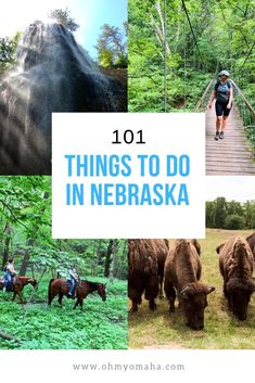 The ultimate list of things to do in Nebraska - 101 landmarks, restaurants, outdoor adventures, and unique experiences to have in Nebraska #guide #Nebraska #USA