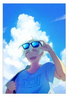 Watch anime online in English. Dc Anime, Anime Guys, Manga Anime, Anime Art, Kaito Kuroba, Detektif Conan, Kaito Kid, Gosho Aoyama, Amuro Tooru