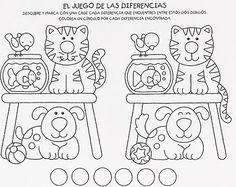 1. Sınıf İki Resim Arasındaki Farkları Bulma Etkinliği Görselleri | Eğitim Destek Sitesi