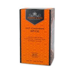 Harney and Sons Hot Cinnamon Spice - heard rave reviews about this one.  It's on order as we speak..... Premium Tea, Chocolate Brands, Cinnamon Spice, Crumpets, Tea Packaging, Coffee Drinks, Tea Time, Spices, Teas