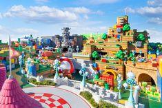 """A Universal Studios anunciou nesta quinta-feira (14) que a inauguração do primeiro parque temático """"Super Mario"""" foi adiada novamente. A decisão foi motivada pelo aumento de casos de covid-19 no Japão, local do chamado """"Super Nintendo World"""".  Parque temático """"Super Nintendo World"""" em Osaka, Japão (Foto: Divulgação/Universal Studios Japan)    A ideia original era de que a estreia fosse em"""