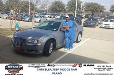 Thank you to Frances & Andrew Haywood on your new 2013 #Chrysler #300 from Malcolm Johnson and everyone at Huffines Chrysler Jeep Dodge RAM Plano! #NewCarSmell
