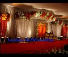 wedding entrance gate decorations - Google Search