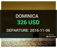Flight from Charlotte to Dominica by Avia #travel #ticket #flight #deals   BOOK NOW >>>
