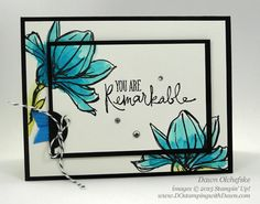 Remarkable You Card Set for Control Freaks Blog Tour October 2015 Holiday projects by Dawn Olchefske #dostamping #stampinup