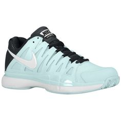 Nike Zoom Vapor 9 Tour - Women's at Foot Locker Tennis Court Shoes, Walking Tennis Shoes, Platform Tennis Shoes, Tennis Shoes Outfit, Tennis Dress, Tennis Clothes, Tennis Outfits, Running Shoes, Nike Shoes Cheap