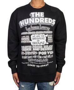 The Hundreds - 54 Crewneck Sweater - $56