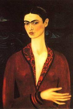 ¿Sabían que este es el primer cuadro profesional de Frida Kahlo?.     Lo pintó como regalo para su amante Alejandro Gómez Arias, que la había abandonado y a quien pretendía recuperar de esa manera.
