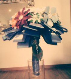 Diy bouquet brooch.detalle 6.