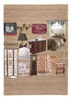 """country"" by xtyissaa-maelfeyt ❤ liked on Polyvore featuring interior, interiors, interior design, home, home decor, interior decorating, DutchCrafters, Hillsdale Furniture, Universal Lighting and Decor and Lexington"