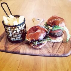Beef and falafel sliders