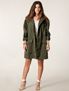 Vintage French Parka Army Olive by RawArmyVintage on Etsy