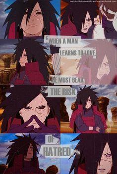 Poor baby, I feel sorry for him, I love Madara Uchiha ❤️❤️❤️ - Naruto Shippuden