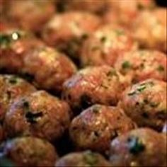 Meatballs - You won't miss the bread crumbs in these tasty meatballs. - low carb - so many uses!