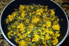 Have you found yourself looking at those bright yellow dandelions in your yard and wondering what to do about them? Put them to work in your kitchen! Try this easy recipe for Dandelion Jelly.
